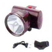 Налобный аккумуляторный фонарик на 1 светодиод YJ-1858a