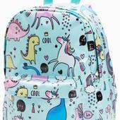 Яскравий рюкзак з єдинорогами від NEXT для дівчат під замовлення