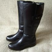 Tamaris р.39,40 чоботи зимові нові шкіра оригінал