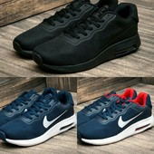 Кроссовки Nike Air Max, р. 41-45, цвета в ассорт., код kv-2490