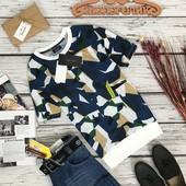 Яркая футболка для мужчины от Zara  TS5394