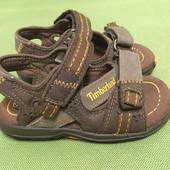 Босоножки, сандалии кожаные Timberland р.23, стелька 15см