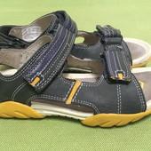 Босоножки, сандалии кожаные Clarks  р.30,  стелька 19.5см.