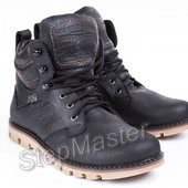 Мужские кожаные ботинки Levis Б 25-01