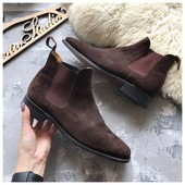 Шикарные ботинки челси John White рр 43