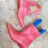 Кожаные сапоги ботинки Buffalo р.40