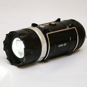 Кемпинговый фонарь Sb-9699 (солнечная панель, power bank)