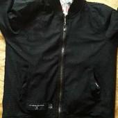 Двухсторонняя куртка ветровка Criminal Damage р.48