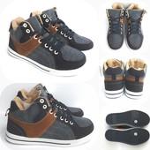 Джинсовые кросовки-ботинки хорошее качество унисекс, размер 36-41!
