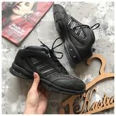 Кожаные высокие кроссовки Adidas р-р 42 Clima Cool