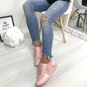 Кроссовки Chane розовые