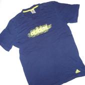 Мужская футболка Adidas р.L  (ог 100см, коттон плотный), оригинал