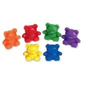 Набір для сортування Ведмедики малюки - learning resources 6 шт (Baby Bear)