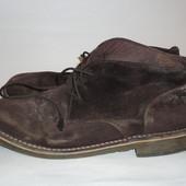 Мужские ботинки замш натуральный р.42