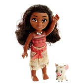 Disney Принцессы Диснея кукла Моана 15см и поросенок moana and pua doll