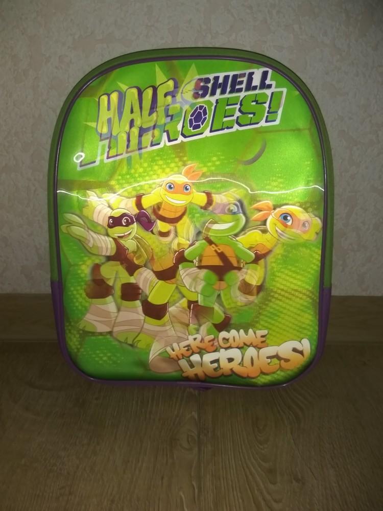 Детский рюкзачок (рюкзак) черепашки ниндзя фото №1