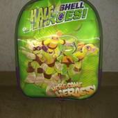 Детский рюкзачок (рюкзак) Черепашки Ниндзя