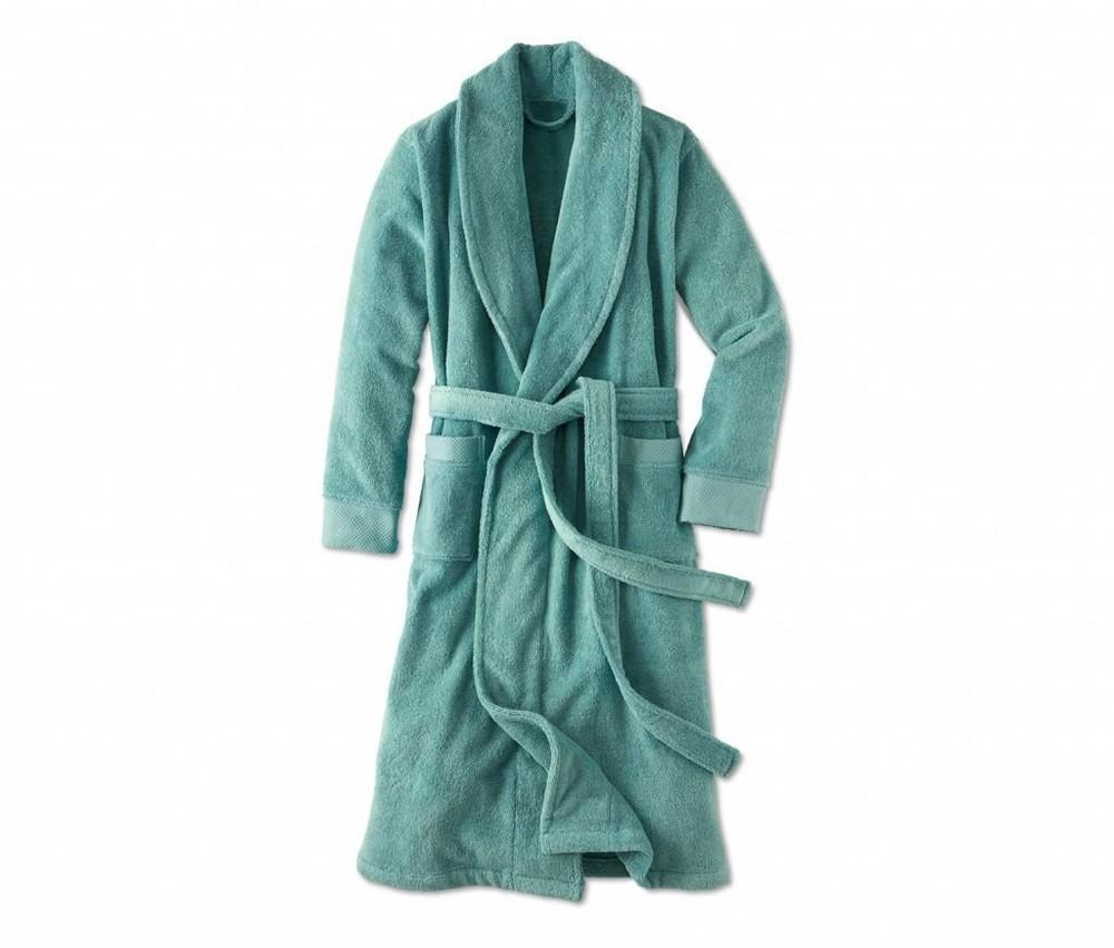 Шикарный хлопоковый махровый халат Тсм Чибо. Унисекс фото №1