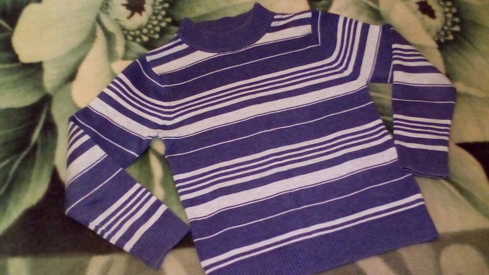 Водолазка свитерок на мальчика 6-7 лет фото №1