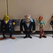 Игрушки Макдональдс из мультфильма Смывайся