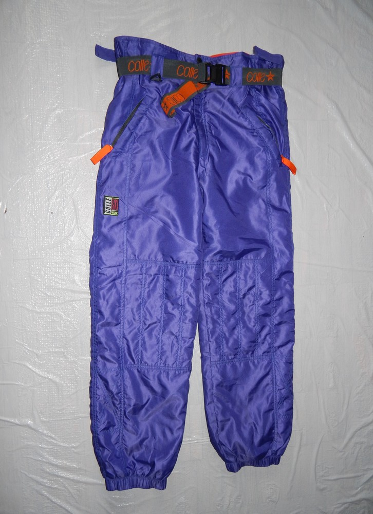 Euro 48-50-52 лыжные штаны, colle, италия, термоштаны теплые зимние фото №1