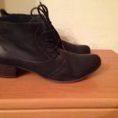 ботинки модельные кожаные Tamaris Германия р.41