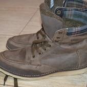 Geox  respira 42р зимние кожаные  ботинки сапожки сапоги