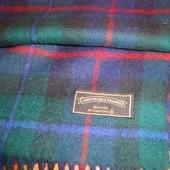 James Pringle Weavers тёплый шарфик 100% шерсть стильная клетка