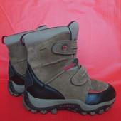 В новом сост.зимние термо ботинки 30-31р Merrell Waterproof Америка