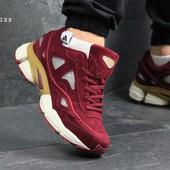 Кроссовки мужские Adidas Raf Simons burgundy