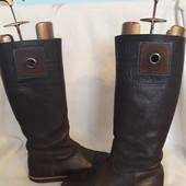 Кожаные высокие сапоги Gaastra р. 39 стелька 25,5 см