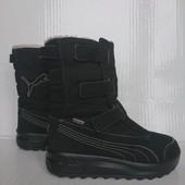 В идеале зимние термо ботинки сапоги 34р Puma Gore-tex Оригинал