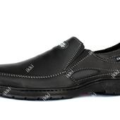 Туфли мужские на резинку обувь Львовского производства (СГП-2-5)