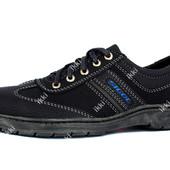 Мужские туфли спортивные синего цвета (СГК-2-4)