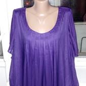 Шифоновая блуза . Размер 26-28