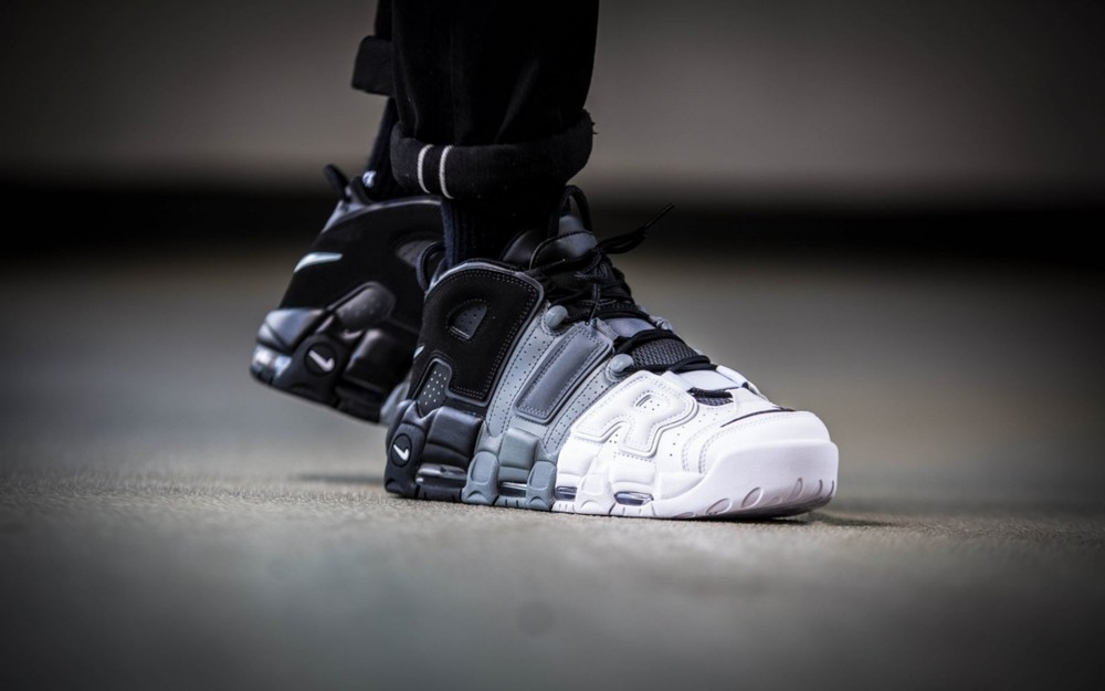Кроссовки nike air more uptempo tri-color р. 41-45, код fr-1394 фото №4