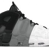 Кроссовки Nike Air More Uptempo tri-color р. 41-45, код fr-1394