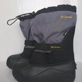 В новом сост. зимние термо ботинки 35-36р Columbia Waterproof