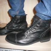 Ботинки берцы Firetrap Фаертрап 43-44 р 29 см кожа везде