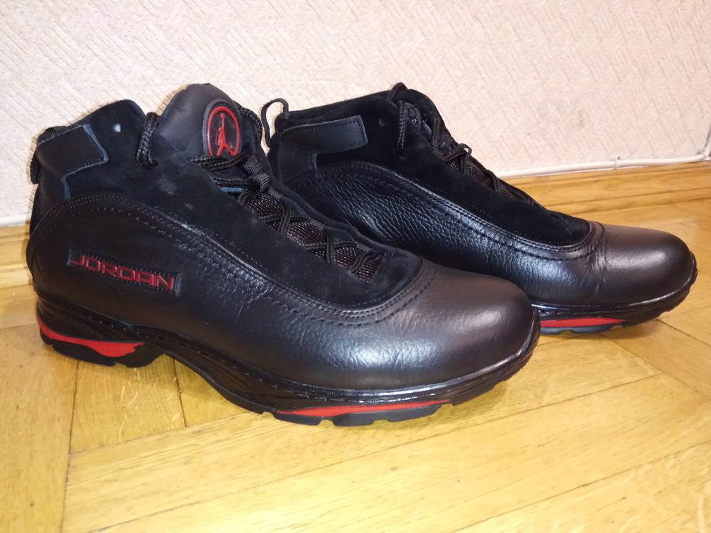 c68e29a0 Jordan зимние мужские кроссовки натуральная кожа мех ботинки, цена ...