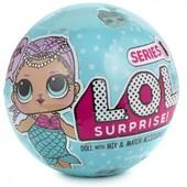 L. O. L. Куклы сюрприз в шаре русалочка surprise doll S1 mermaid edition