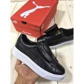 Кроссовки Puma Basket Platform Black, р. 36-40, код fr-1422