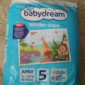 Памперсы Babydream Junior 5, 20 шт, 12-22 кг