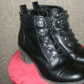 Деми ботинки, ботильены 36р. стелька 23,5см.