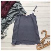 Блуза майка в бельевом стиле TopShop рр С