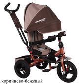 Детский трехколесный велосипед Кросер тринити Т400 Фара Сroser Triniti