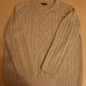 свитер косы 50-52р-р