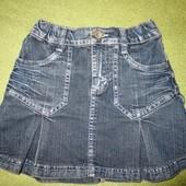Джинсовая юбочка от Глория Джинс.