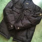 Зимняя теплая мужская куртка, размер Л