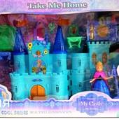 Замок Frozen(озвучений з світ. ефект.) SG-2993N